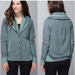Lululemon To Class Sweater Jacket